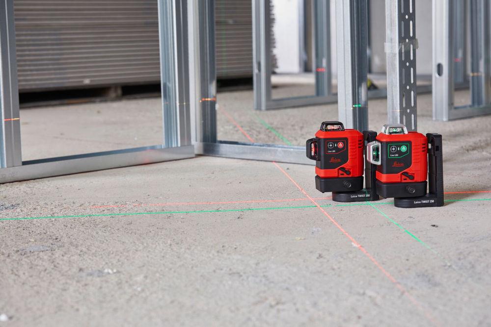 Лазерный нивелир Leica LINO L6G и LINO L6R