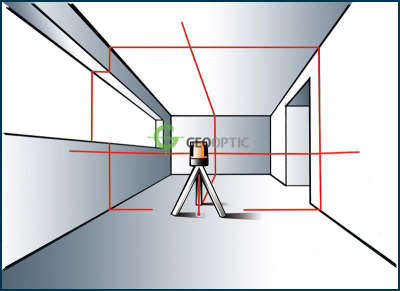 Лазерный уровень Geo-Fennel FL 60 Maxi-Liner