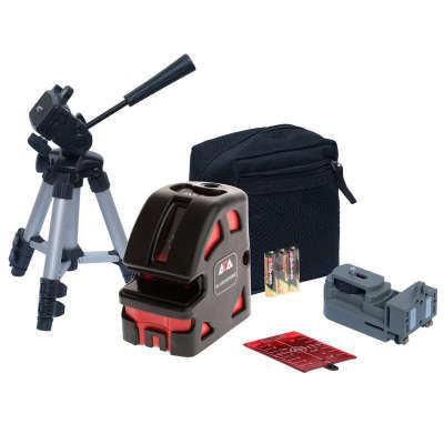 Лазерный уровень ADA 5D Crosspoint SET