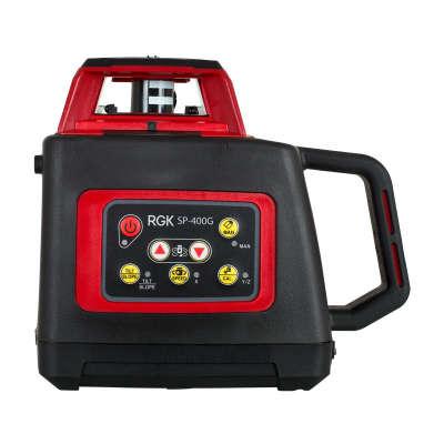 Ротационный лазерный нивелир RGK SP 400G
