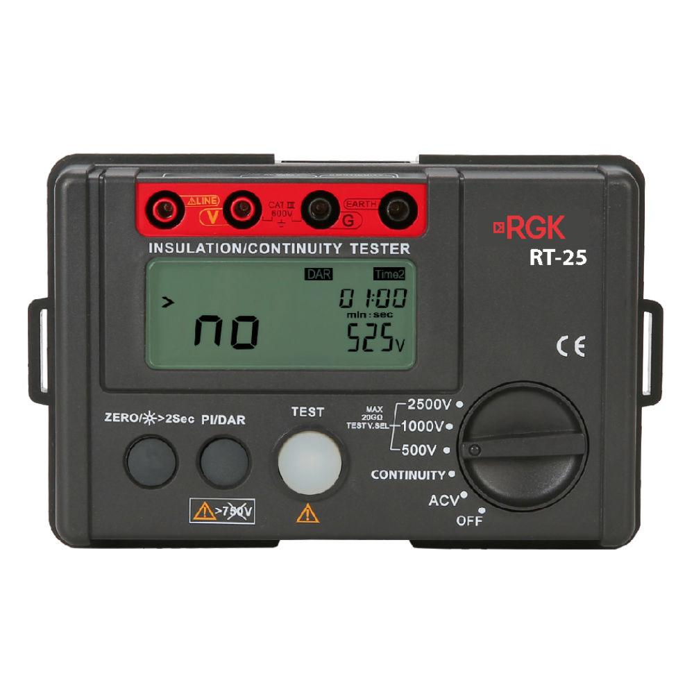 Мегаомметр RGK RT-25 776523