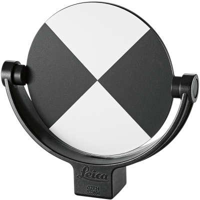 """Круглая черно-белая марка 4,5"""" Leica GZT21  (822694)"""