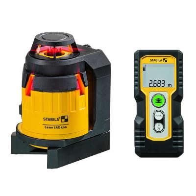 Лазерный уровень Stabila LAX400 + LD220 18702