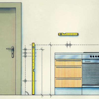 Строительный уровень STABILA 70 Electric (43 см) (16135)