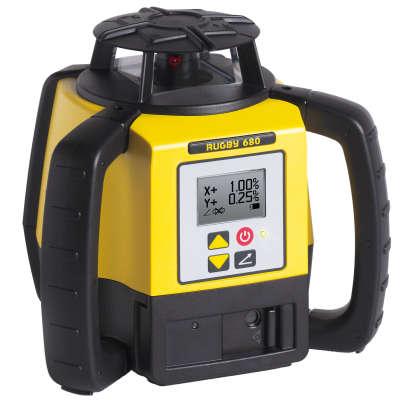 Ротационный лазерный нивелир Leica Rugby 680 RE160 6015676
