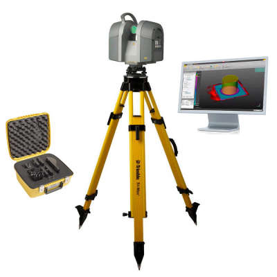 Комплект 3D-cканера Trimble TX8 (340 м) + TRW ADVANCED-MODELER