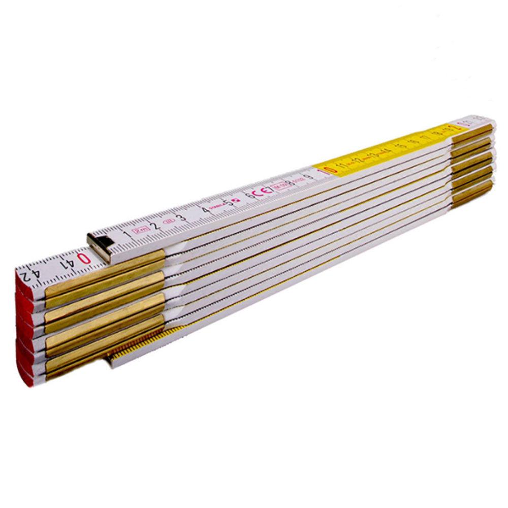 Метр складной STABILA 1607 (2м х 16мм, белый) 01134