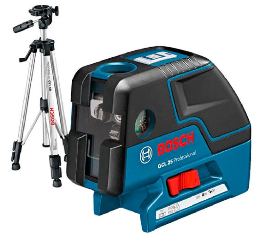 Лазерный уровень Bosch GCL 25 Professional + BT150 0601066B01
