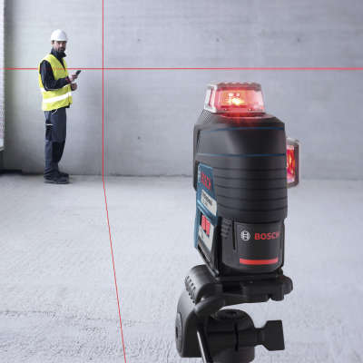 Лазерный уровень Bosch GLL 3-80 C + BM 1 (12 V) + L-Boxx 0.601.063.R02