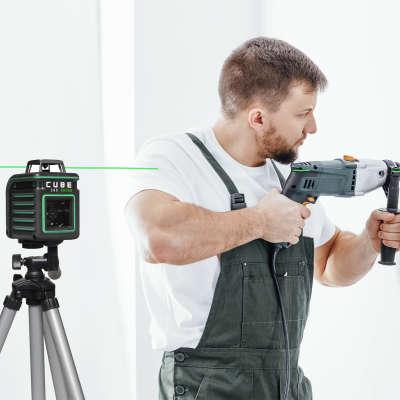 Лазерный уровень ADA Cube 360 Green Professional Edition А00535
