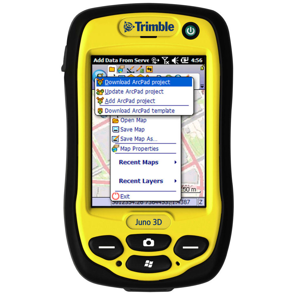 Программное обеспечение Trimble GPS correct для ESRI ArcPad 46837-VG