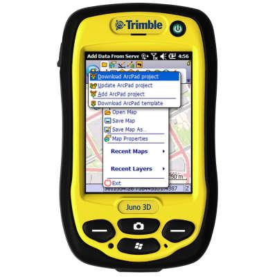 Программное обеспечение Trimble GPS correct для ESRI ArcPad (46837-VG)
