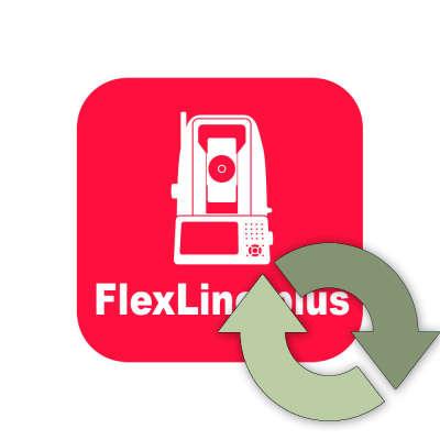 Право на обновление Leica FlexField для TS02/TS06/TS09+ (1 год) (5302514)