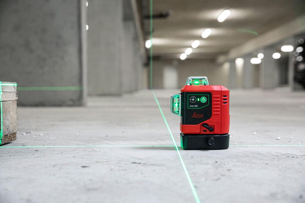 Лазерный нивелир Leica LINO L6G