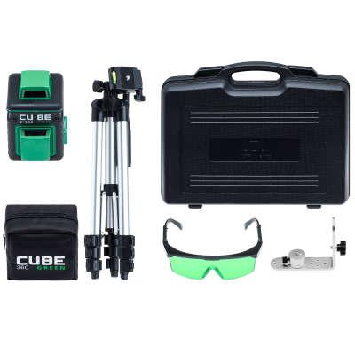 Лазерный уровень ADA Cube 2-360 Green Ultimate Edition (А00471)