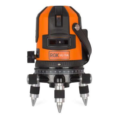 Лазерный уровень RGK UL-11 A MAX 4610011870897