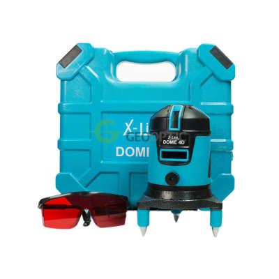 Лазерный уровень X-Line DOME 4D