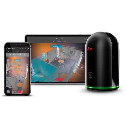 Лазерный сканер Leica BLK360 + Cyclone REGISTER 360