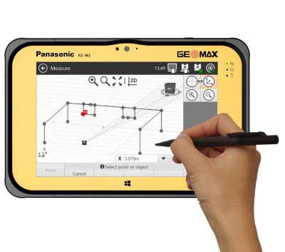 Полевой планшет GeoMax Panasonic FZ-M1 (840425)