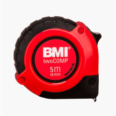 Рулетка BMI twoCOMP 5m 472541021