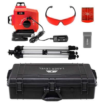 Лазерный уровень  ADA TopLiner 3-360 Set с калибровкой (А00484К)
