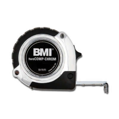 Рулетка BMI twoCOMP CHROM 2m 475241221