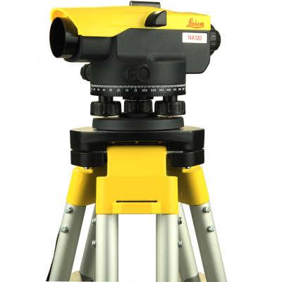 Оптический нивелир Leica NA320 + штатив S6-2 + рейка TS4M 840381 set