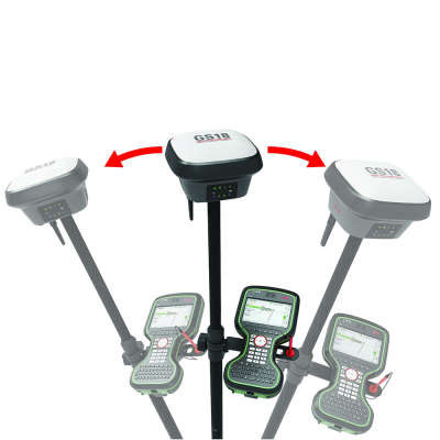 RTK-ровер Leica GS18 GSM/UHF, Rover CS20 Disto, 1 год Smartnet 6014796