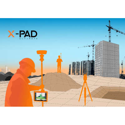 Лицензия GeoMax X-PAD Ultimate Survey Premium (GNSS, TPS и ROBOTIC)