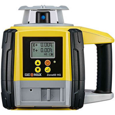 Ротационный лазерный нивелир GeoMax Zone60 HG basic