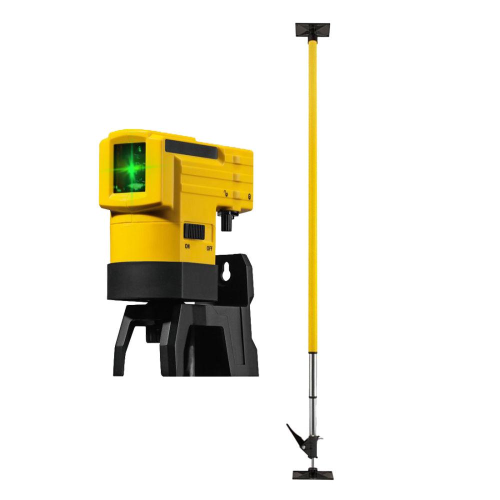 Лазерный уровень STABILA LAX50 G + штанга LT30 19110 + 17775