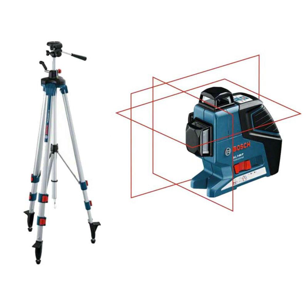 Лазерный уровень Bosch GLL 3-80P (BT250) 060106330B