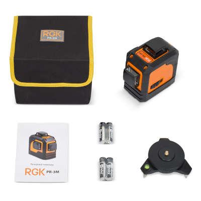 Лазерный уровень RGK PR-3M 4610011871542