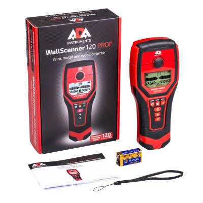 Детектор проводки ADA Wall Scanner 120 PROF А00485