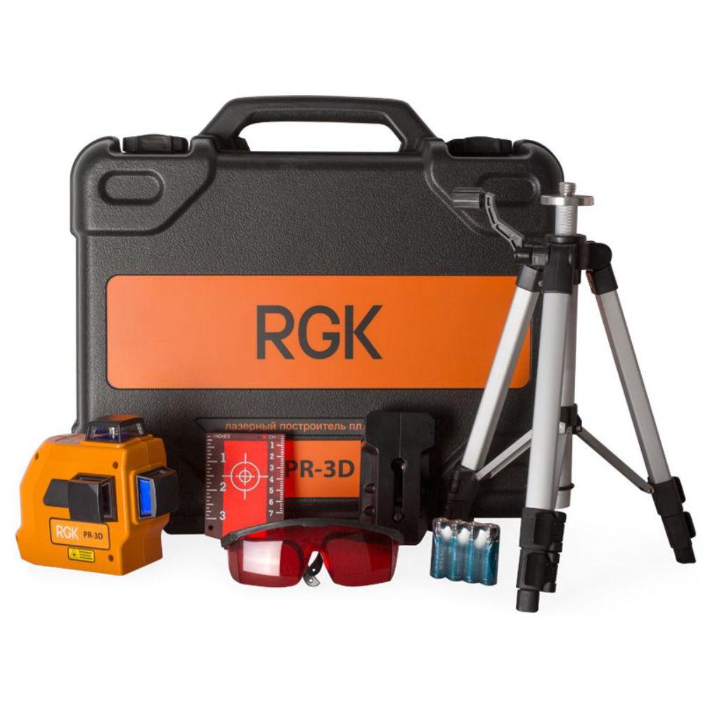 Лазерный уровень RGK PR-3D MAX 4610011870750