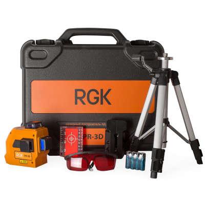 Лазерный уровень RGK PR-3D MAX
