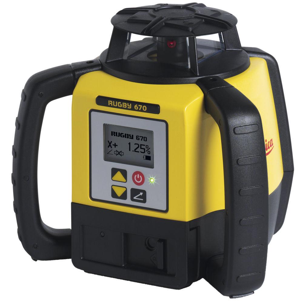 Ротационный лазерный нивелир Leica Rugby 670 RE160 790375