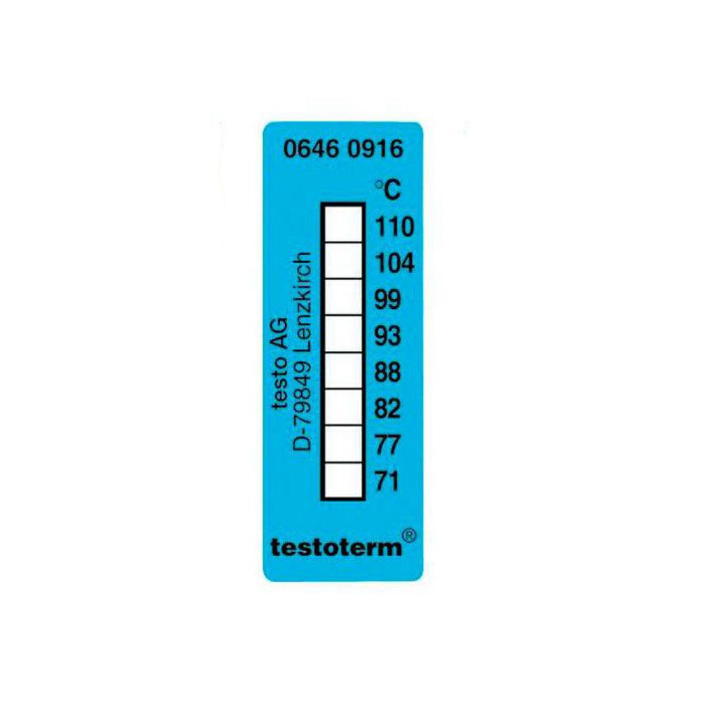 Термические полоски Testo (+71 °C to +110 °C) 0646 0916