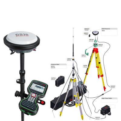 RTK GSM/Radio комплект Leica GS16 ровер CS20, GS16 база SATEL 4Pro