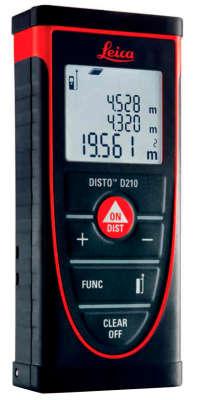 Лазерный дальномер Leica DISTO D210 783648