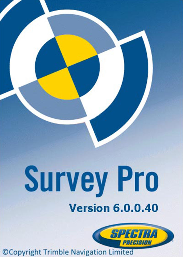 Программа Spectra Precision Survey Standard Software SWO-SW-S-SS