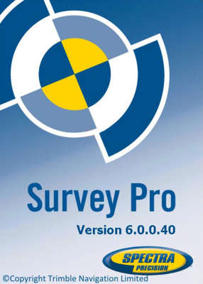 Программа Spectra Precision Survey Pro Robotic Software SWO-SW-S-SR