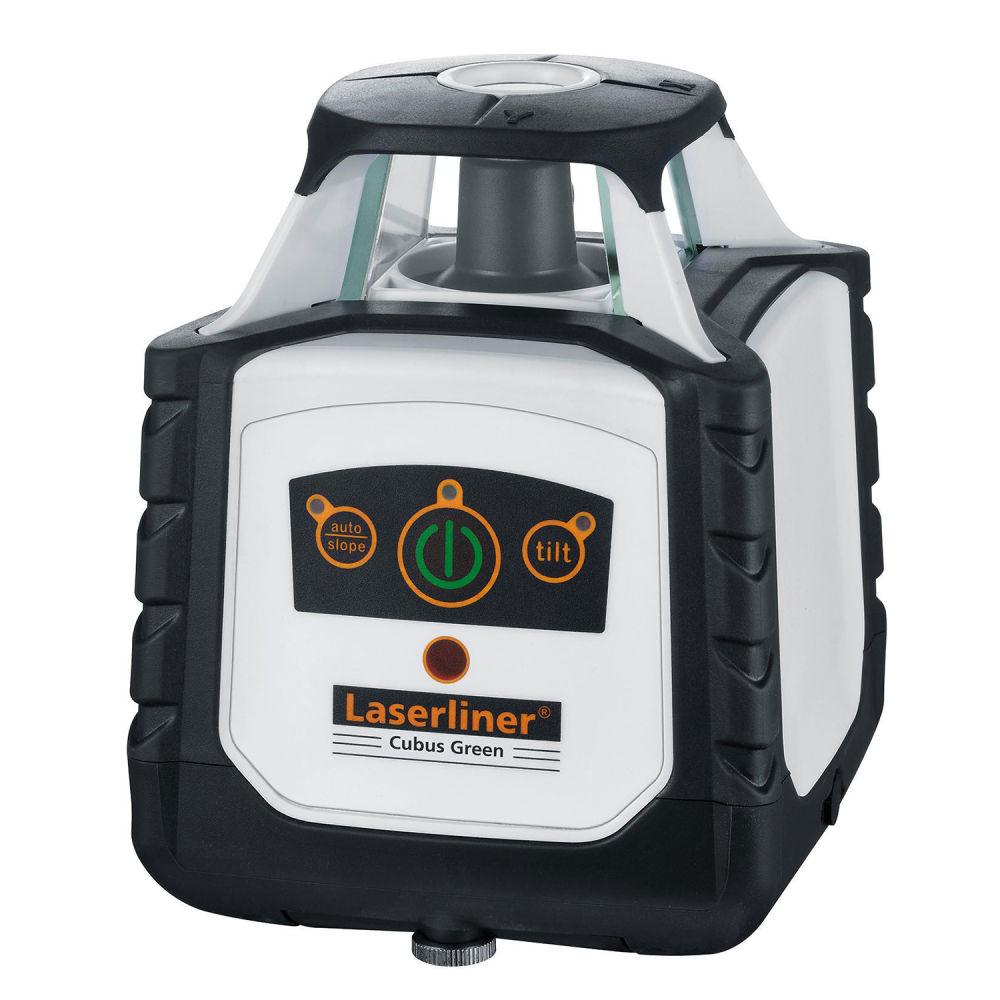 Ротационный лазерный нивелир Laserliner Cubus Green 110 S 052.300A