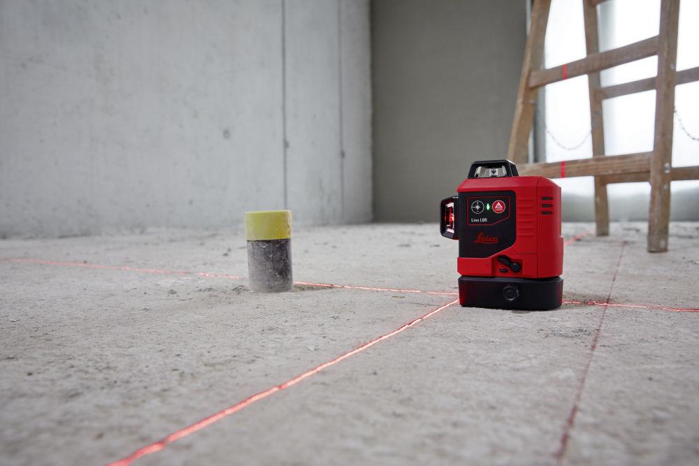 3x360° лазерный нивелир Leica Lino L6R