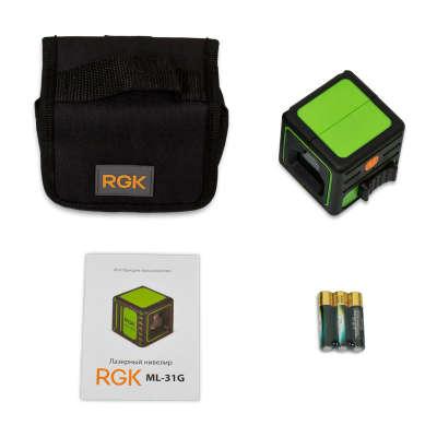 Лазерный уровень RGK ML-31G 4610011873263