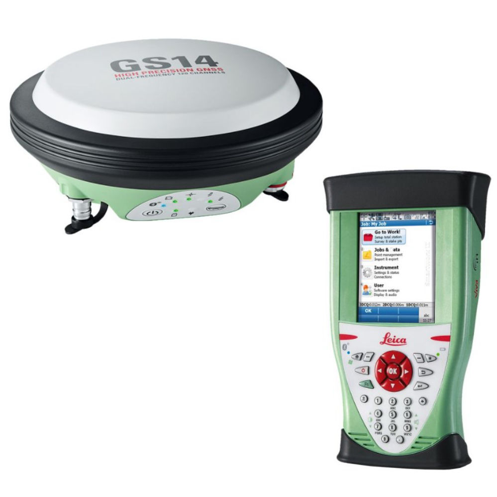 RTK-ровер Leica GS14 GSM+Radio CS10 3.5G, 1 год Smartnet 6013967