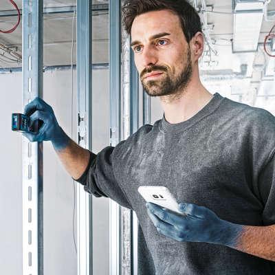 Лазерный дальномер Bosch GLM 50C Professional (0601072C00)