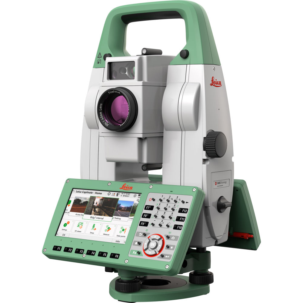 """Роботизированный тахеометр Leica TS16 I R1000 1"""" 917429"""
