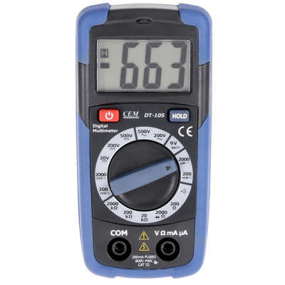 Мультиметр CEM DT-105 480 151
