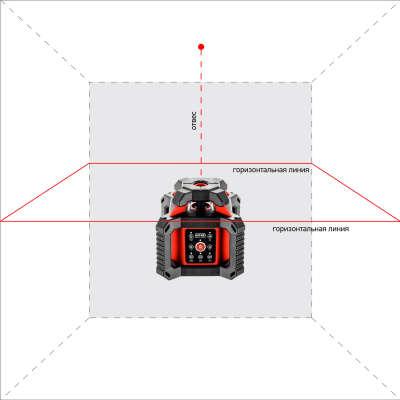 Ротационный нивелир ADA ROTARY 500 HV Servo А00578